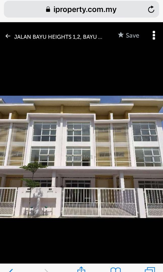 Bayu Height 3 story house for rent