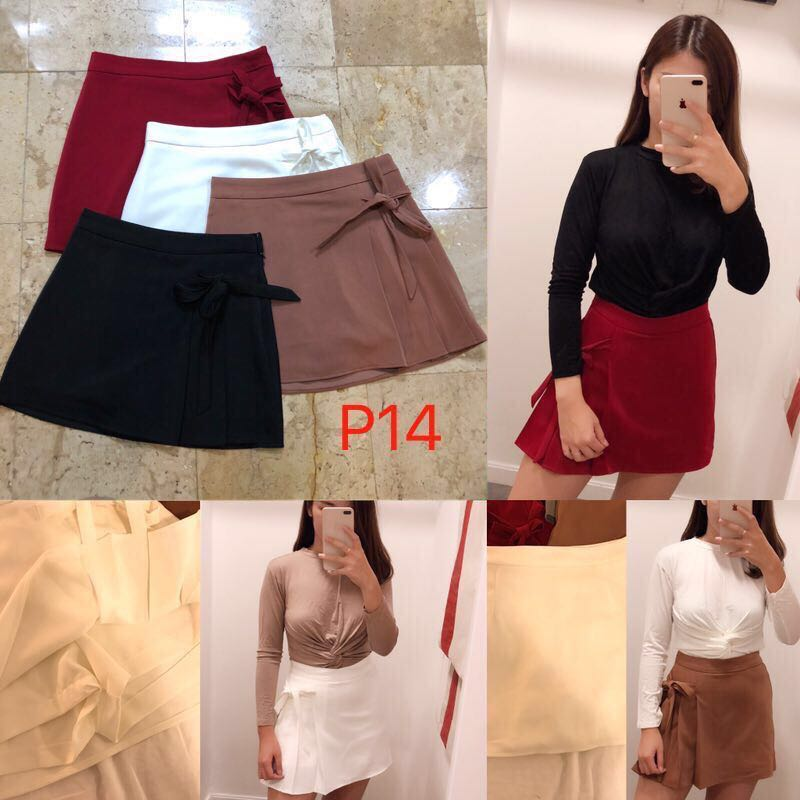 b623bbcef9 BN High Waist White Skirt (White Color only), Women's Fashion ...