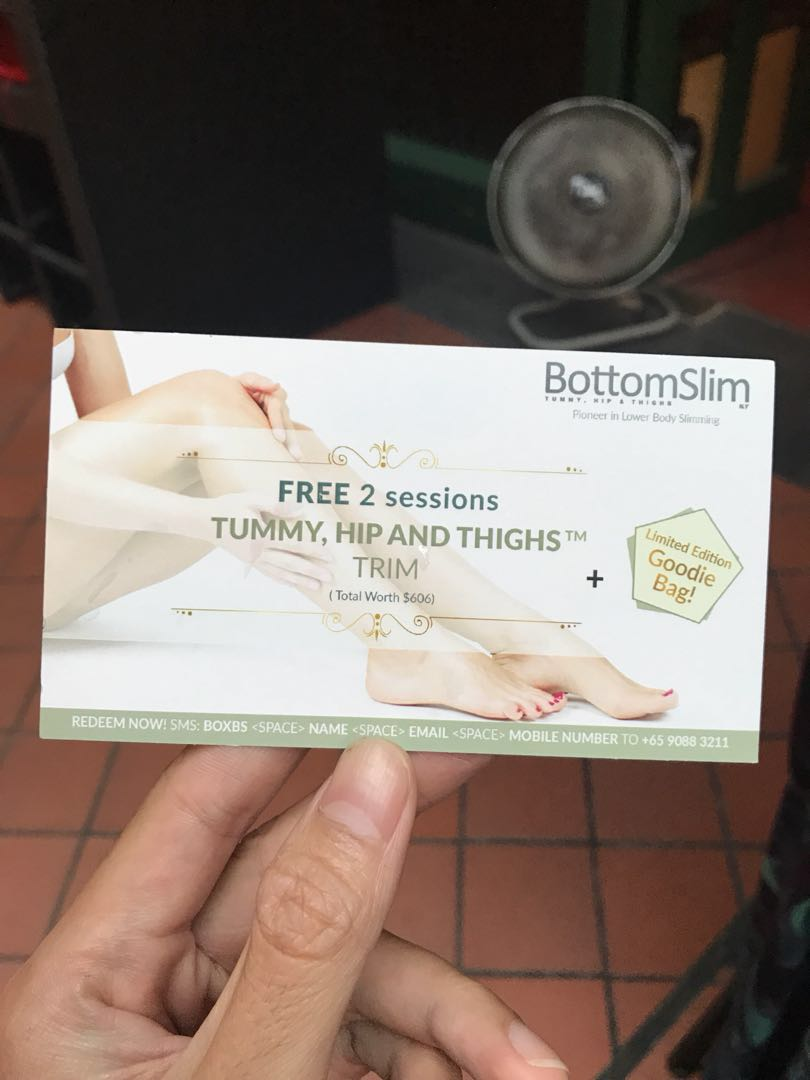 Bottomslim promotional giveaways