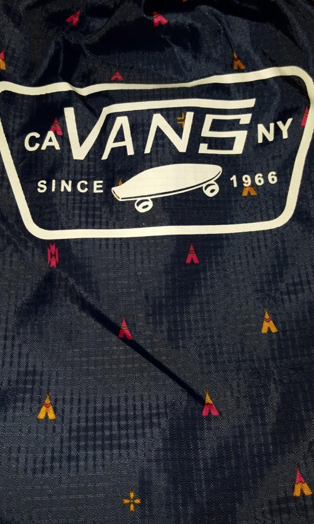 24ab17550df CA VANS NY SINCE 1966 DRAWSTRING BAG