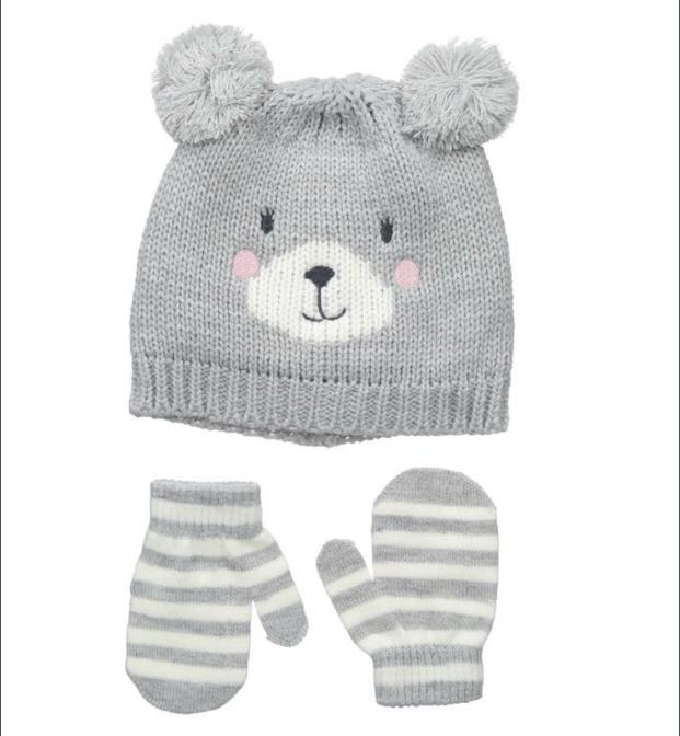 Carter s Winter Hat and Mittens 23daecb4e22