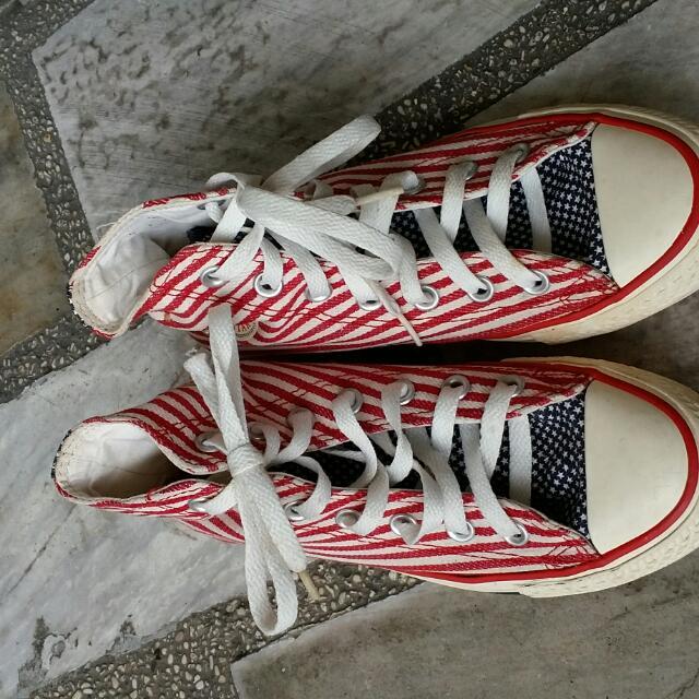 6d4e82db863b Converse Chuck Taylor American Flag Design