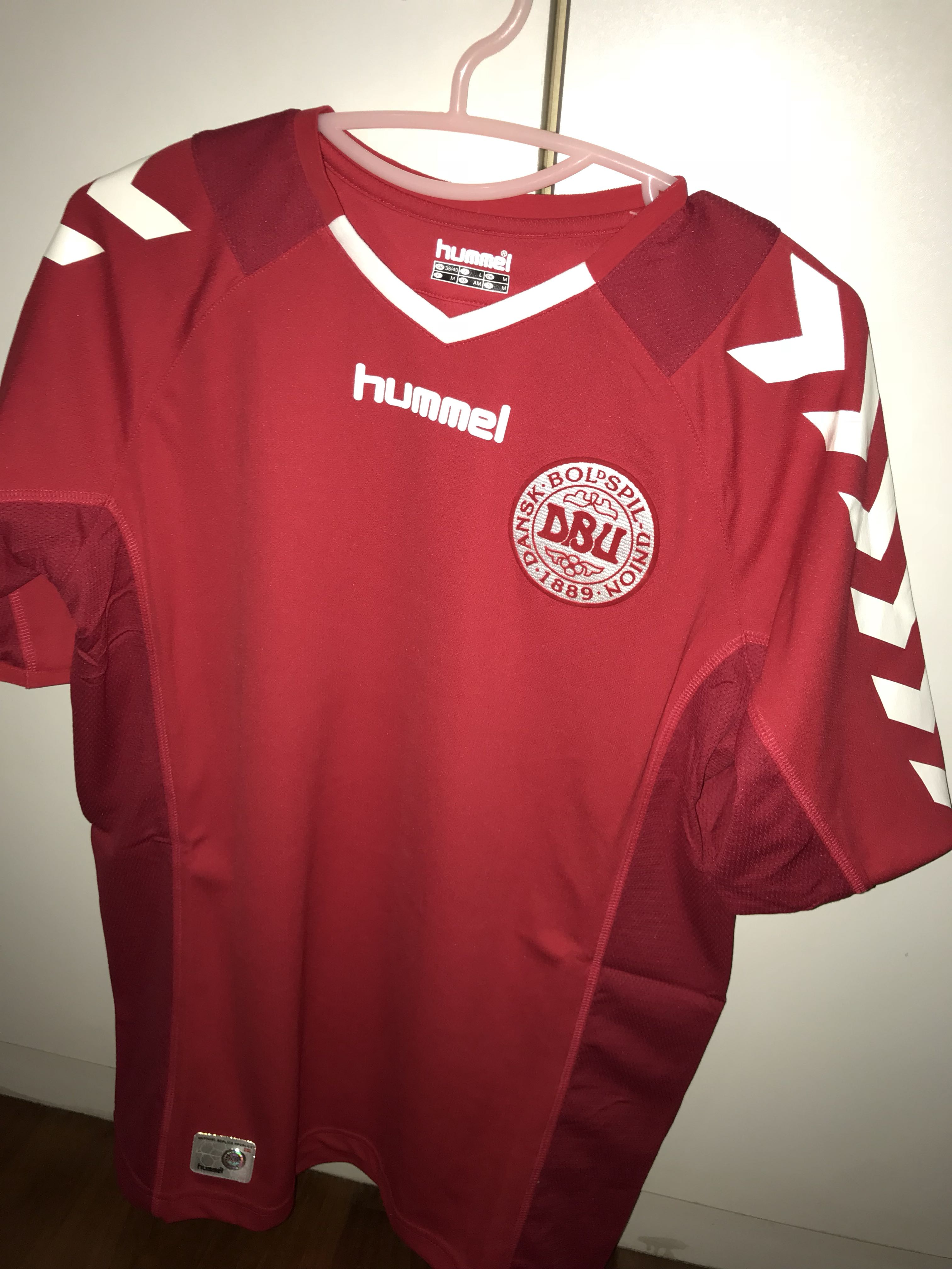 284c69b7d Denmark Authentic Football Jersey (Hummel)