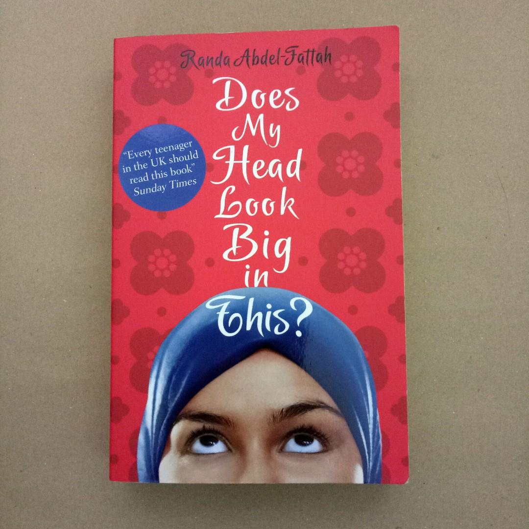 does my head look big in this author