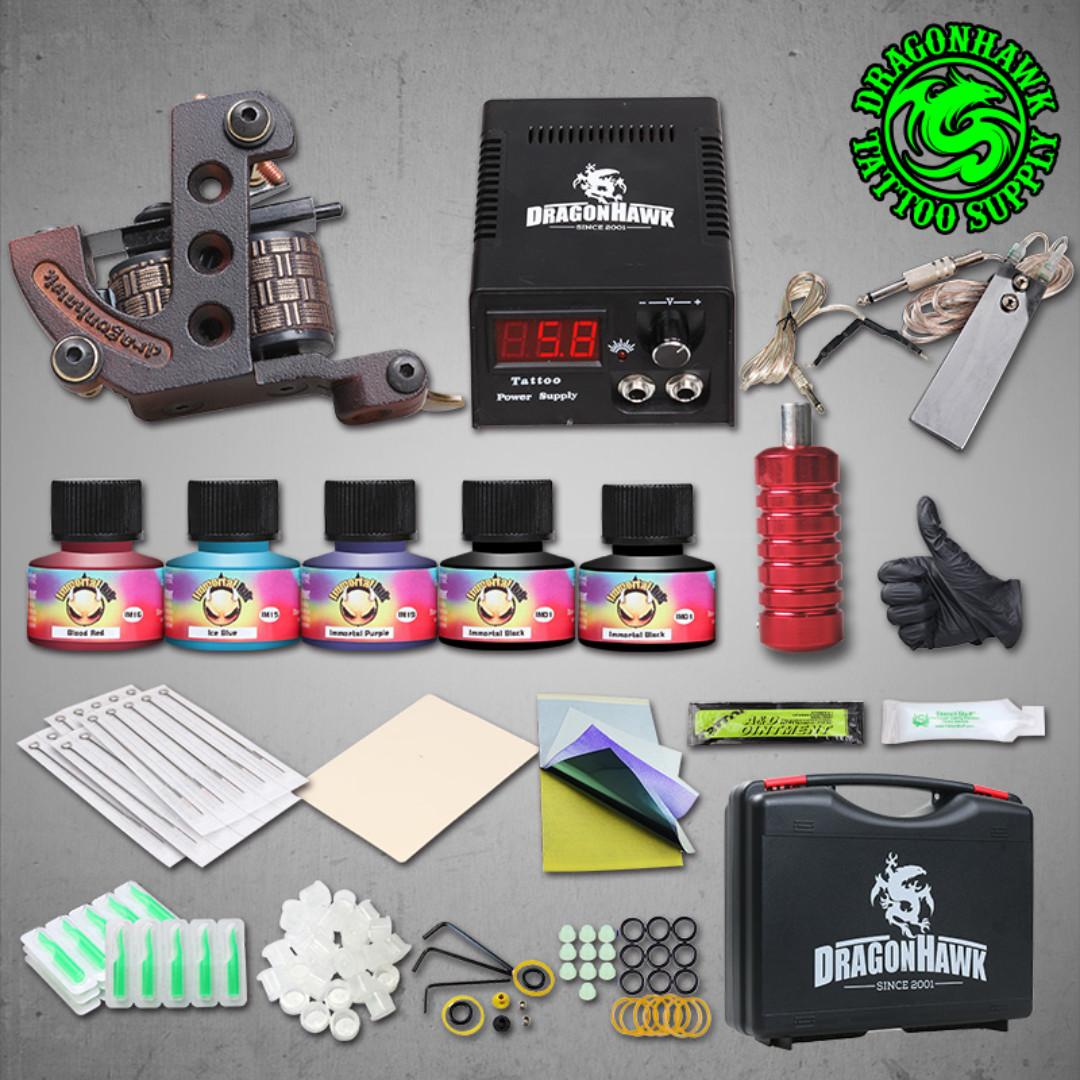 Dragon Eagle Brand Tattoo Machine Set T003 Sold