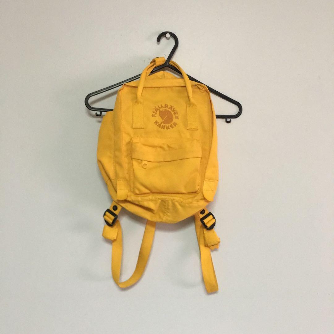4f4ed6ce3 fjallraven kanken Re-kanken Mini (sunflower yellow), Men's Fashion, Bags &  Wallets, Backpacks on Carousell