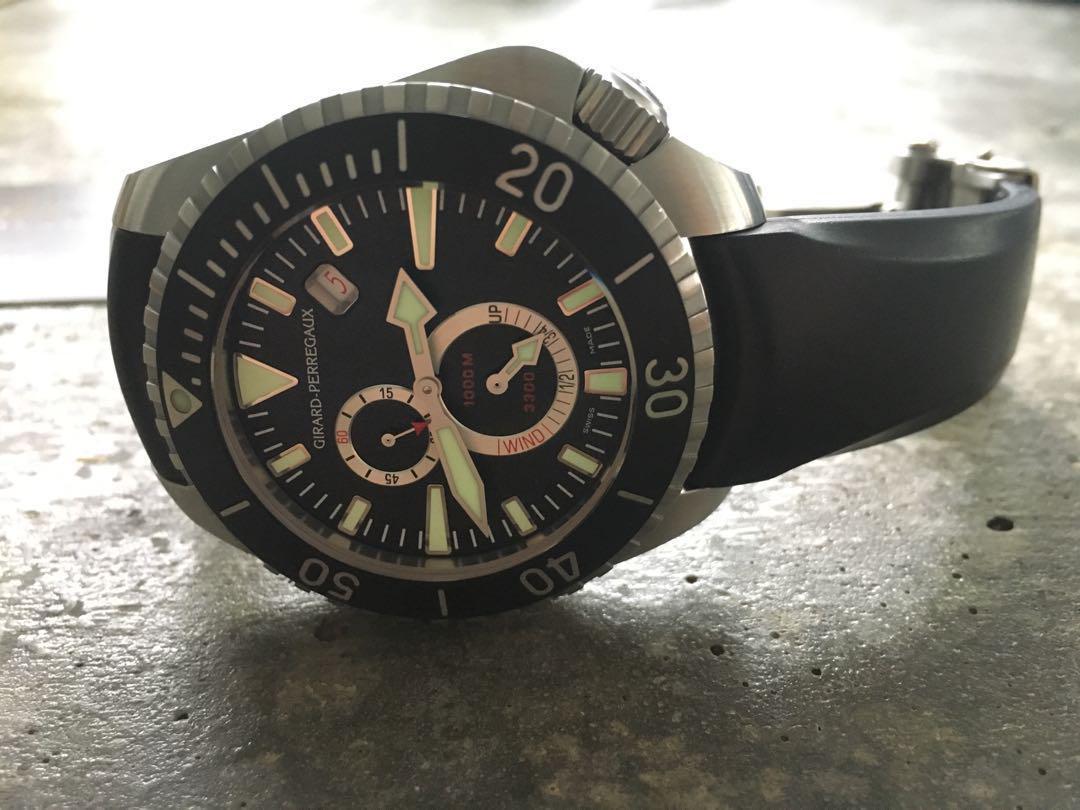 Girard Perregaux GP Seahawk II