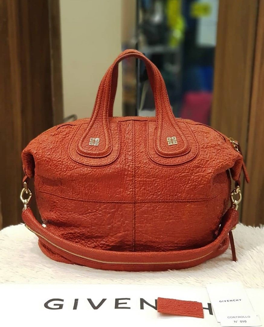 Givenchy Nightingale Medium Calf Bubble Leather ❤️BIG SALE P45k ONLY❤ Good  as new condition With dustbag and tag Made in Italy Swipe for detailed pics  ... 6c96c075d380c