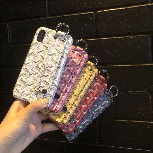 huge discount 607a9 525ed Goyard iPhone X case iphone case