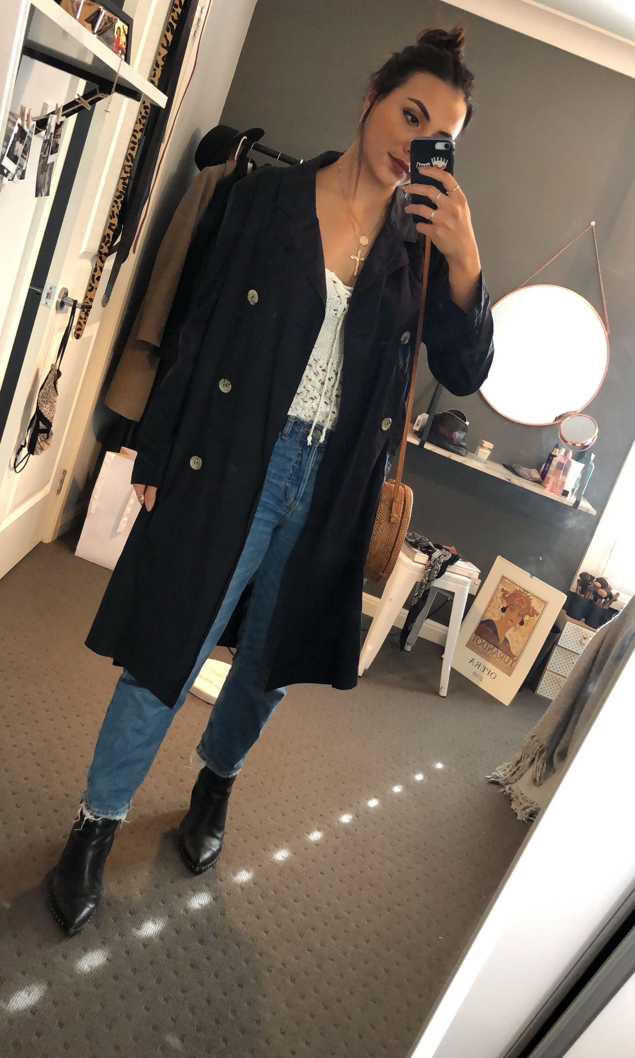 Jac + Jack trench coat / duster