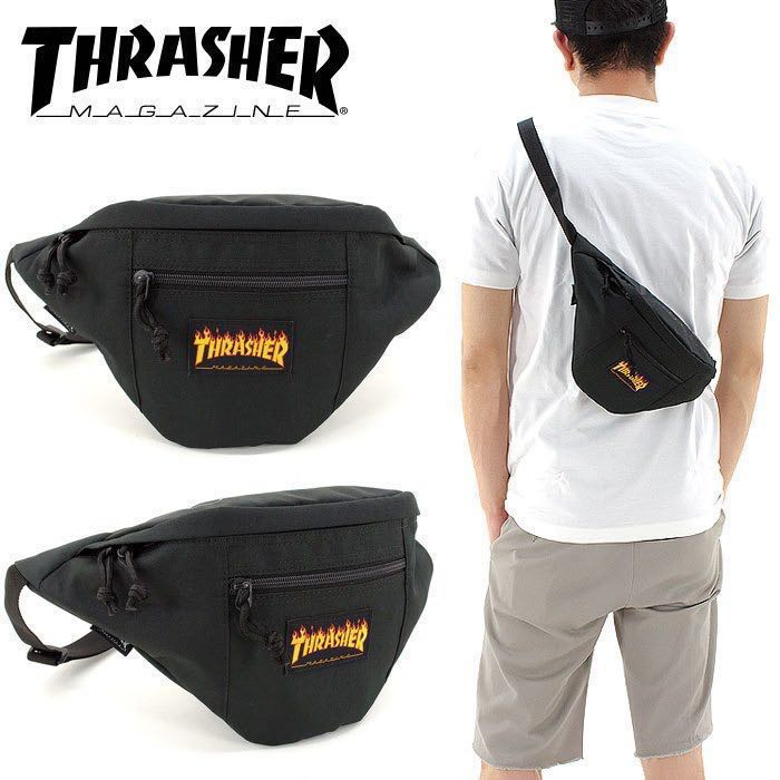 e5e160f4d43239 Japan) THRASHER shoulder bag waist bag slasher THRFL3900 , Men's ...