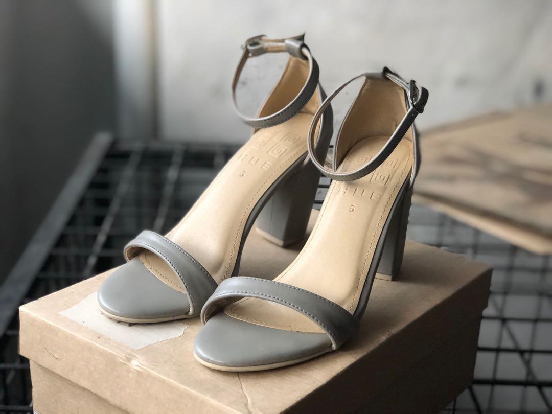 779e49764d8 Light Grey Block Heel