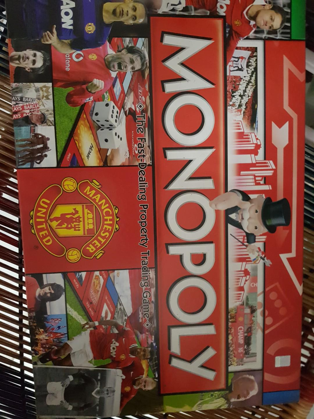 Manchester United board game