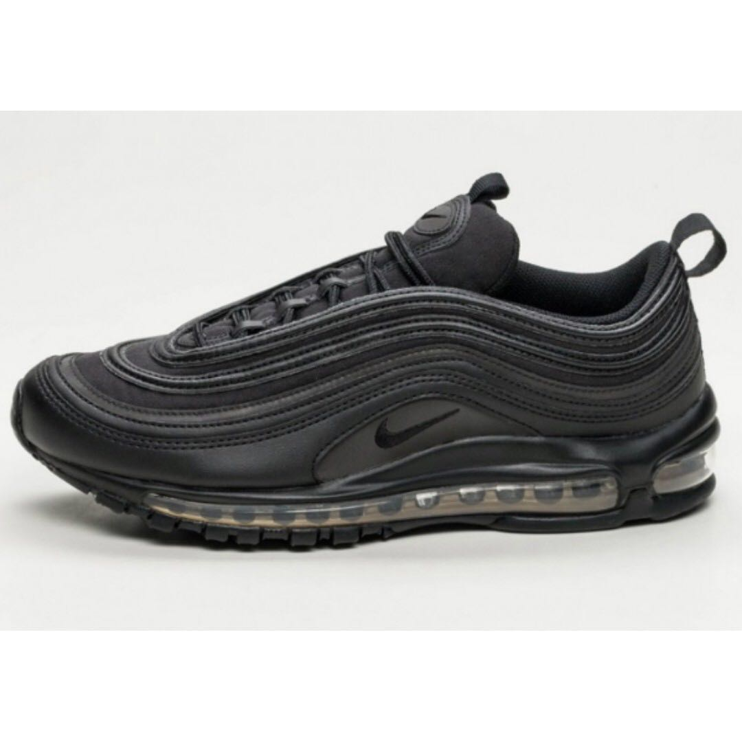 38e4489d55 Nike Air Max 97 PRM SE (Black/Black - Metallic Gold), Men's Fashion ...