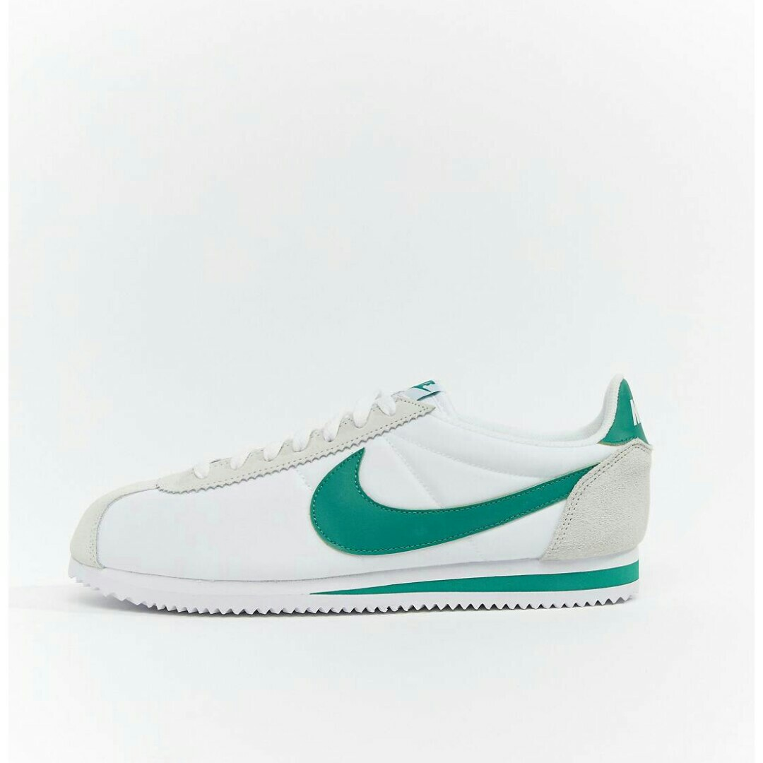 Nike Cortez Nylon White/Green, Men's