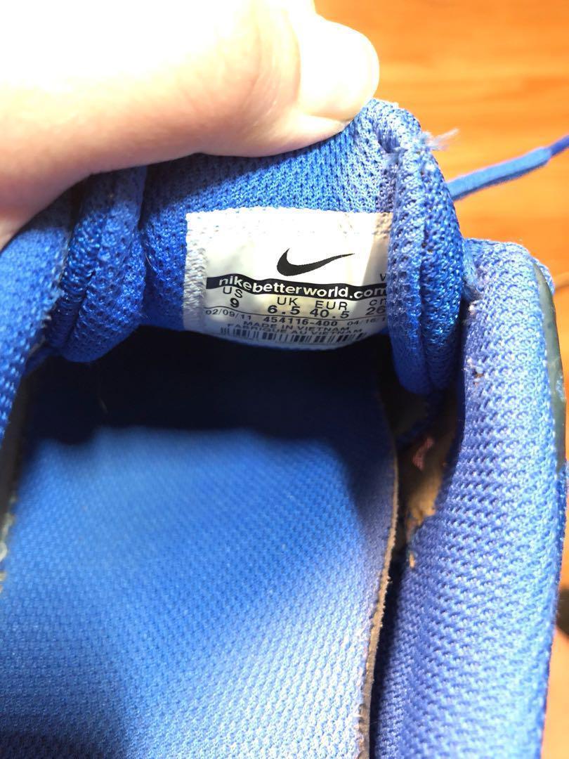 Nike Free XT Blue size 9 shoes