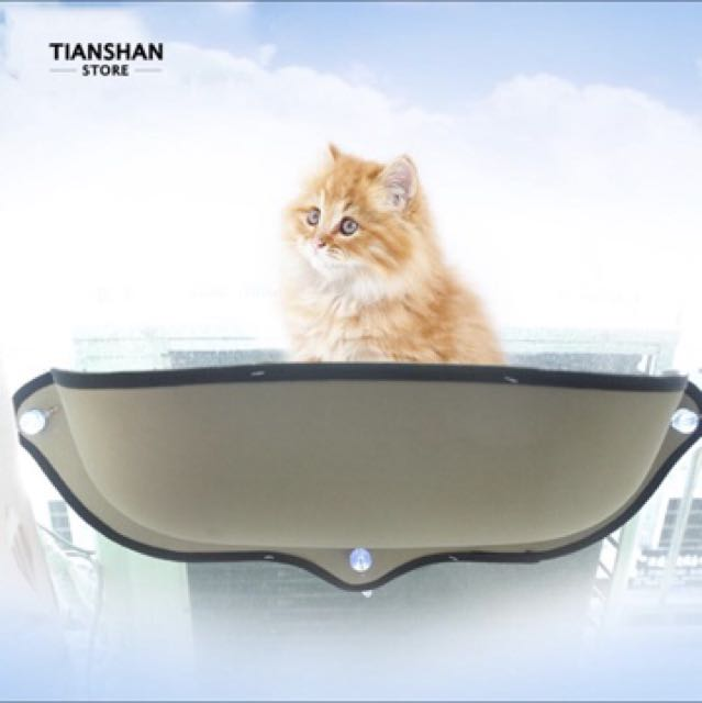 Preorder BN Cat Hammock Pets Dog Car Window Bed (Free Delivery) Pet ... f183cf3991