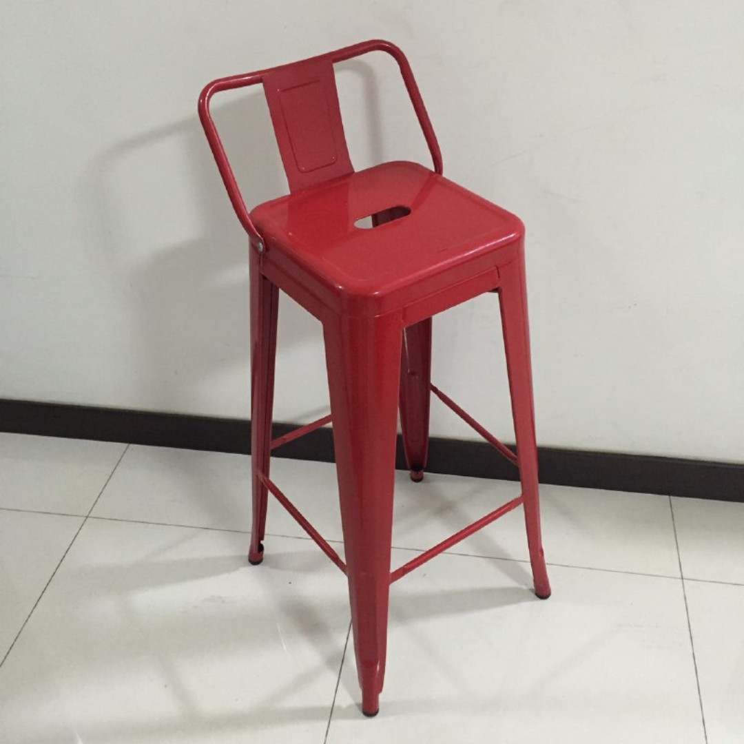 Red Bar Stool Furniture Tables Chairs On Carousell