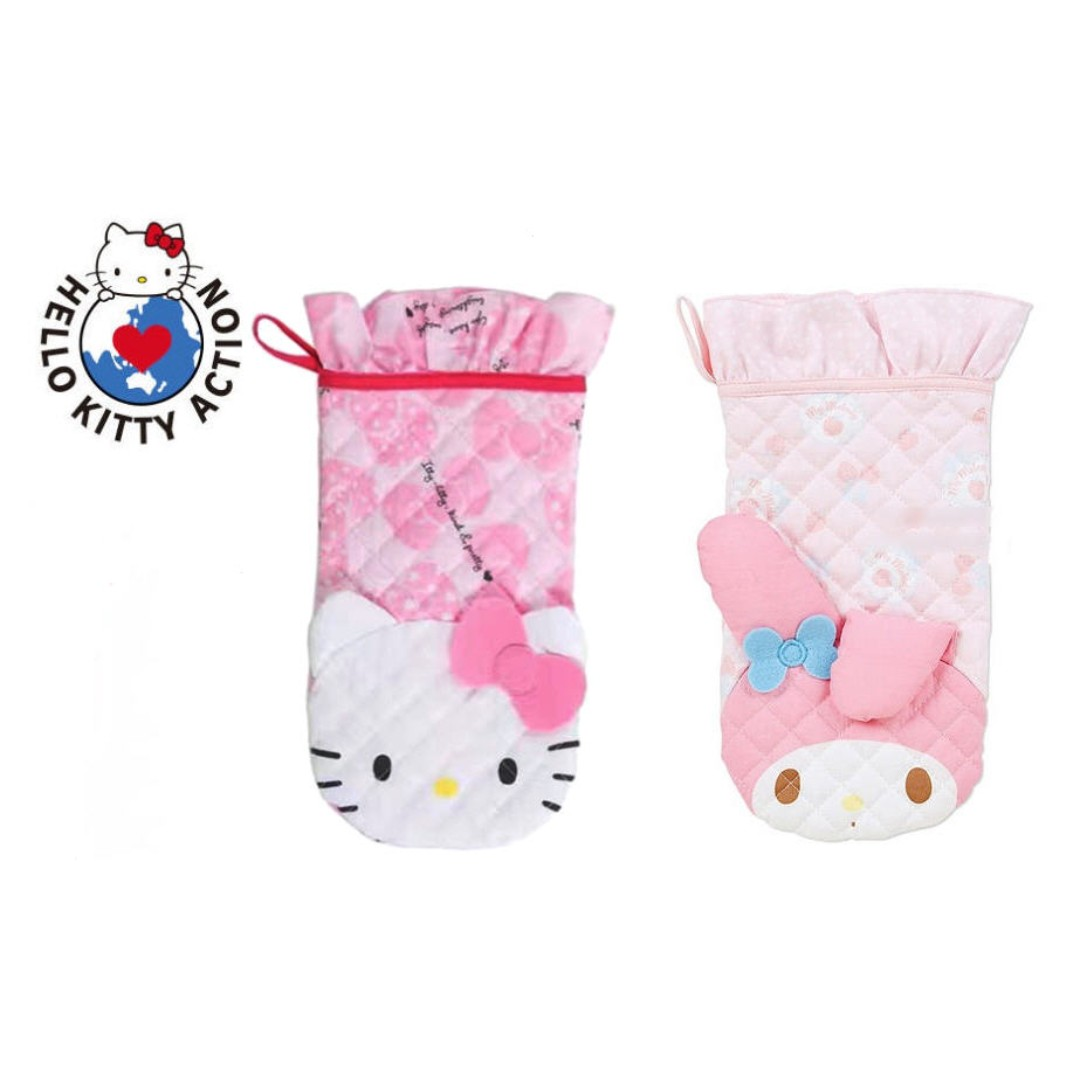 f3b8fcfb0 SANRIO MICROWAVE HAND GLOVE*OVEN*THICK*CUTE*KOREA*HELLO KITTY*MY ...