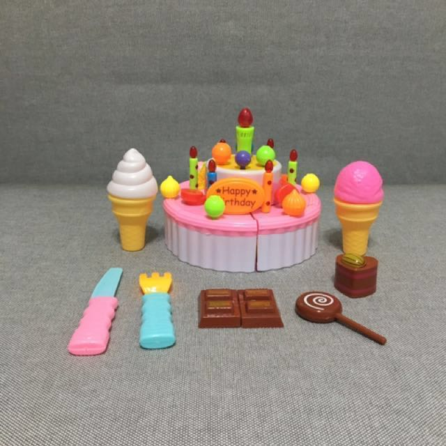 Singing Birthday Cake Babies Kids Toys Walkers On Carousell