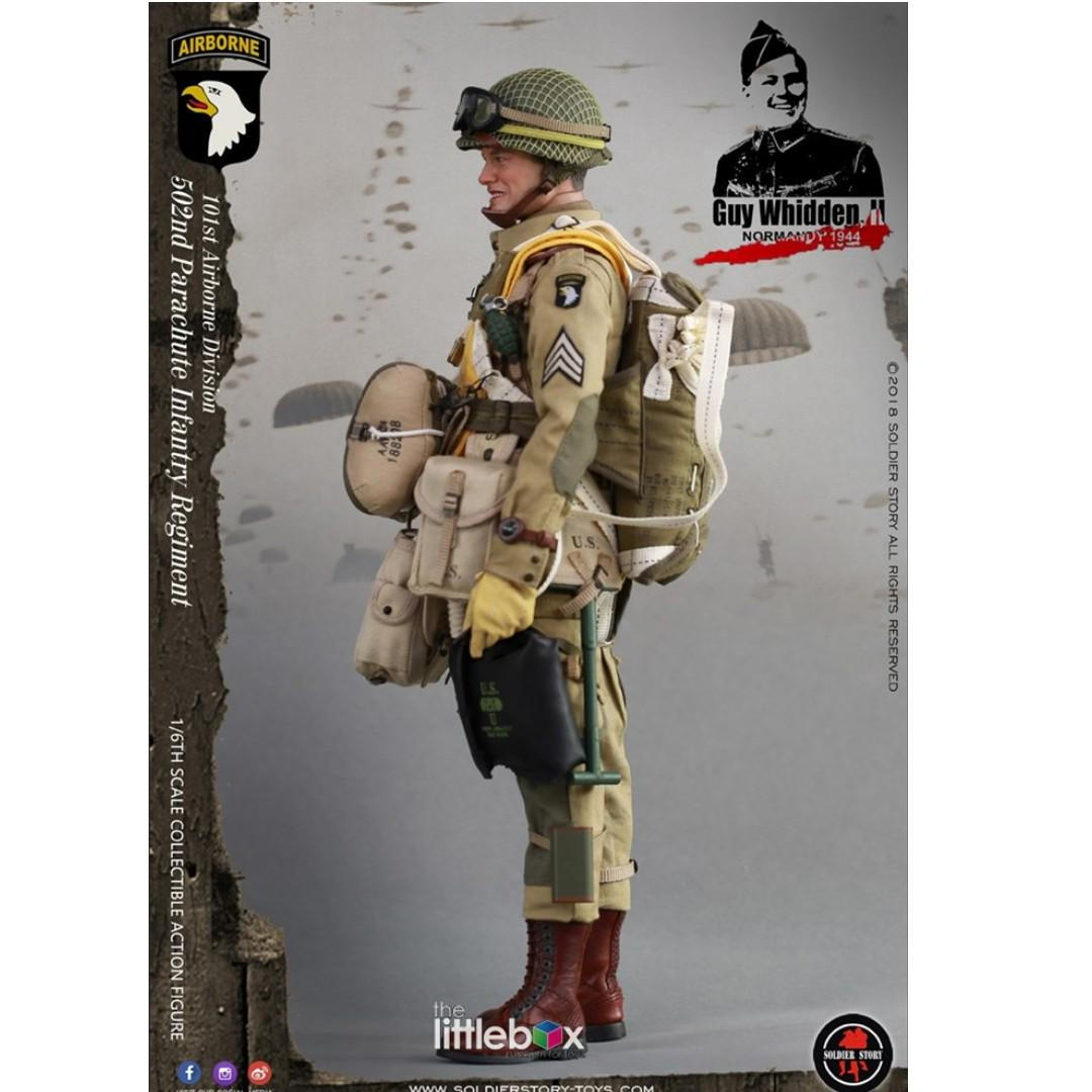 Soldier Story 1 6 Scale Ss110 Wwii 101st Airborne Division Guy Whidden Ii Toys Games Bricks Figurines On Carousell