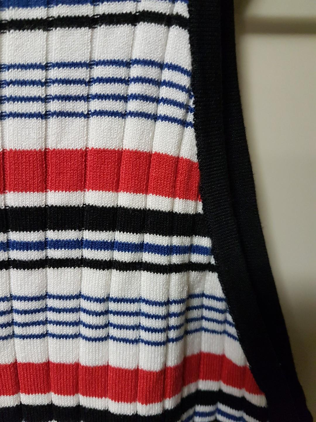 Striped Knit 90s Top