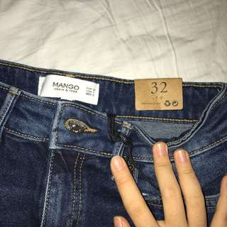 Brand NEW with tag Mango Denim shorts