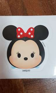 Disneyland Minnie Mouse Sticker