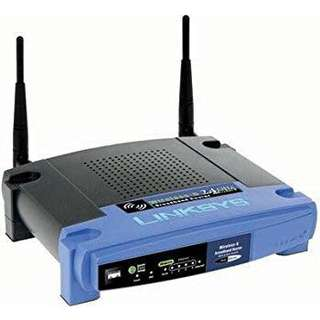 Linksys router WRT54g2