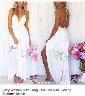 Summer dress -white