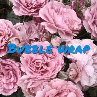 (GIVEAWAY) BUBBLE WRAP