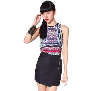 Lovebonito Steis Skirt in Black - Size XS