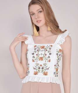 HVV SUMMER EMBROIDERED TOP *OOS ON HVV*