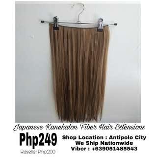 Japanese Kanekalon Hair Extensions (Heat Resistant)