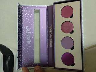 Colourpop custom eyeshadow