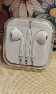 Apple 款  耳機 earpods earphone 3.5 mm 全新 A貨