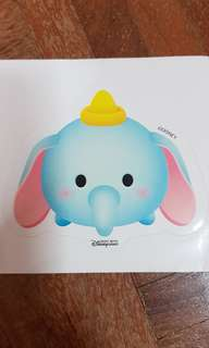 Disneyland Dumbo Sticker