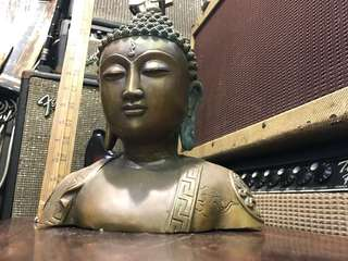舊銅制佛像擺設 2