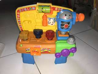 Fisher Price workshop toy USA