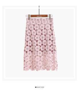 🆕Floral Lace Skirt