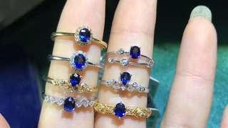 藍寶石戒指 *新店開張,超級優惠*