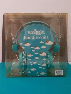 Smiggle Headphones - Blue Clouds