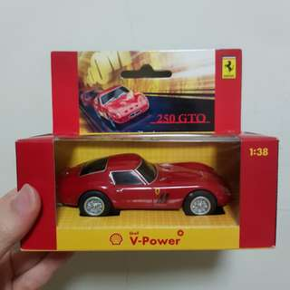 Ferrari Toy Car developed with Shell