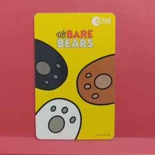 We Bare Bear Paw Ezlink Card