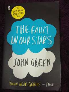 The Fault In Our Stars - preloved book