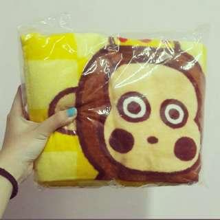 🚚 猴子毛毯#畢業兩百元出清