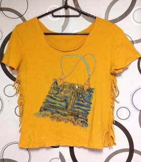 Yellow Mustard Top