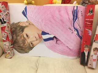 限量超大Lap poster (連盒韓國運來)