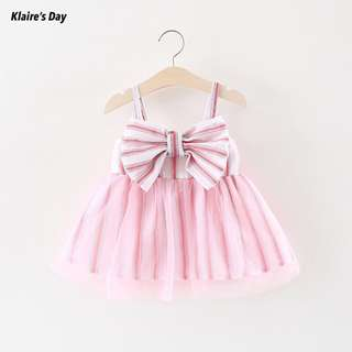Stella Pink Bow Tutu Princess Dress #babydivision