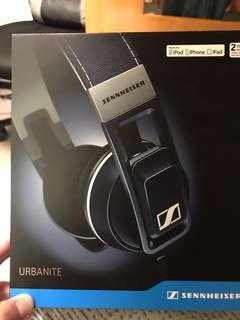 Sennheiser urbanite headphone denim